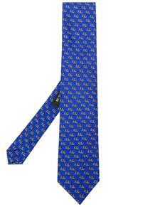 галстук с принтом Pegaso Etro 14841362636363633263