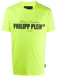 футболка с логотипом PHILIPP PLEIN 14673519888876