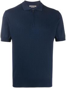 однотонная рубашка-поло Corneliani 150367325448