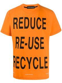футболка с принтом UNITED STANDARD 1518687783
