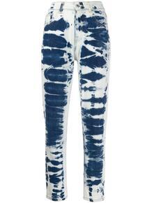джинсы Mom с выбеленным эффектом MSGM 143961865250