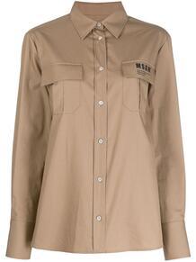 рубашка с карманами MSGM 150417665156