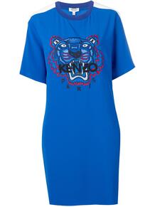 платье-футболка с принтом Kenzo 1379258776