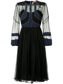 платье миди с прозрачной вставкой №21 133750715248