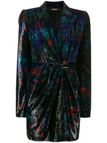 бархатное платье-пиджак Dsquared2 143742545248