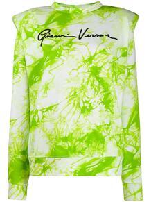 толстовка Gianni с принтом тай-дай Versace 151672295248