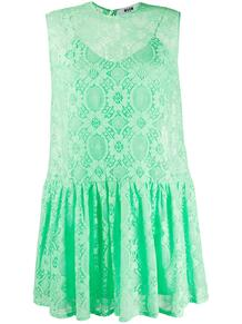 платье без рукавов с узором MSGM 152456765250