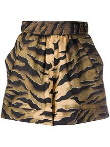 шорты с тигровым принтом Dsquared2 151608565248