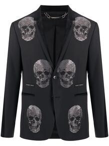 пиджак с декором Skull PHILIPP PLEIN 147685515254