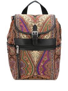 маленький рюкзак с принтом пейсли Etro 15397773636363633263