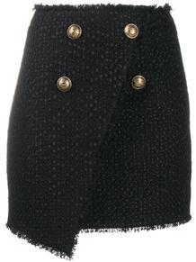 юбка мини с пуговицами BALMAIN 157089855248