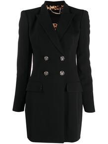 двубортное платье-пиджак PHILIPP PLEIN 1582186783