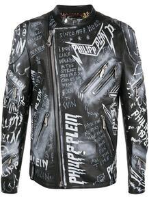 байкерская куртка Rock PP PHILIPP PLEIN 1467457383