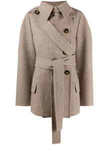 пальто Amelia с поясом Stella Mccartney 153499945248