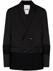 двубортный пиджак со вставками Valentino 153374255350