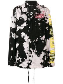 куртка с эффектом разлитой краски PHILIPP PLEIN 1346574777