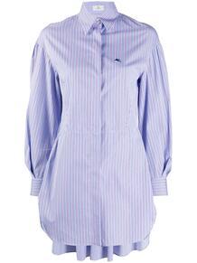 удлиненная рубашка в полоску Etro 155723895254