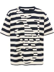 полосатая футболка с логотипом Anchor JW Anderson 1575254183