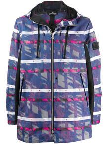 куртка с нашивкой-логотипом и узором Stone Island Shadow Project 1504201476