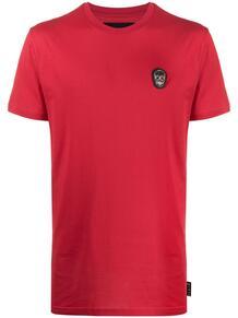 футболка Skull с нашивкой-логотипом PHILIPP PLEIN 1554312076