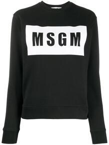 толстовка с логотипом MSGM 1564890083