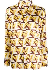рубашка с принтом MSGM 154756955250