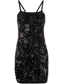 коктейльное платье с пайетками PHILIPP PLEIN 1398430777