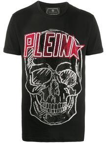 футболка с пайетками PHILIPP PLEIN 147675198876