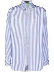 полосатая рубашка на пуговицах Versace 156861375249