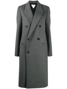 двубортное пальто Bottega Veneta 156099815250