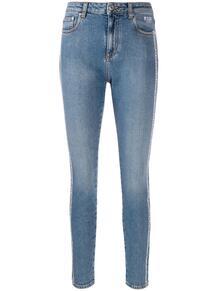 джинсы скинни с логотипом MSGM 138720935248