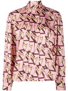 блузка с геометричным принтом MSGM 156737915252