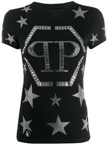 футболка с кристаллами PHILIPP PLEIN 1402741677