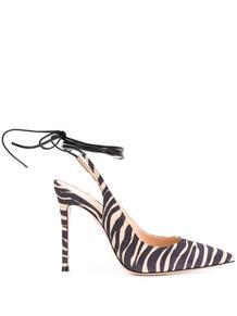 туфли с зебровым принтом Gianvito Rossi 151462135249