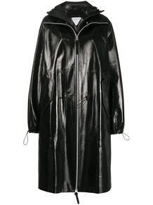 глянцевое пальто с капюшоном Bottega Veneta 156401998883