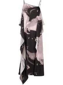 платье-комбинация OFF-WHITE 160501705248