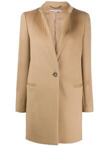 однобортное пальто Stella Mccartney 151543625152