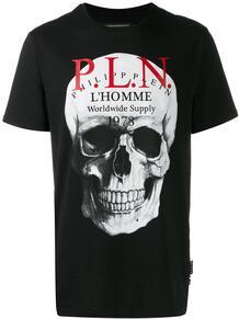 футболка с принтом Skull PHILIPP PLEIN 1401681577
