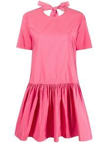 расклешенное платье с бантом Valentino 146813355156