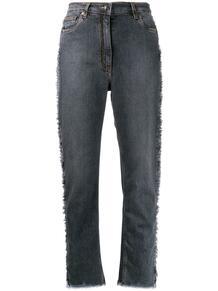 джинсы с узором пейсли на лампасах Etro 144087095056