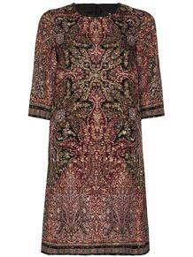 платье-трапеция с принтом пейсли Etro 152779865248