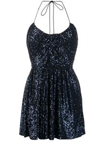 платье мини с пайетками Yves Saint Laurent 149026108883