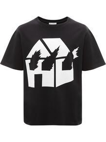 футболка с графичным принтом из коллаборации с DW JW Anderson 1541948683