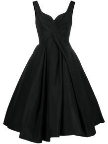 платье миди с пышной юбкой со складками Alexander McQueen 161609735248
