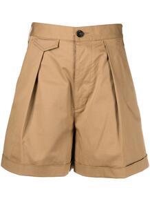 шорты с завышенной талией и складками Dsquared2 162029985248