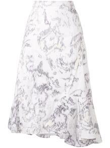 юбка с оборками на подоле 3.1 PHILLIP LIM 154084624950