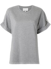футболка с декорированным рукавом 3.1 PHILLIP LIM 1562676177