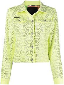 куртка с кристаллами PHILIPP PLEIN 1467344983
