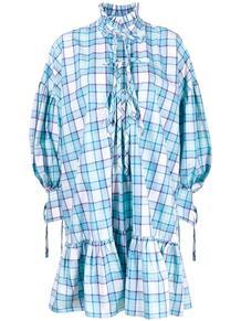 платье-рубашка в клетку MSGM 161534245156
