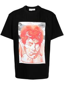 футболка оверсайз с принтом JW Anderson 1575254477